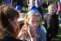 Čkyňští spojili stavění májky a čarodějnický rej pro děti.