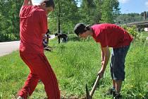 Deváťáci ve Vimperku začínají s novou tradicí.
