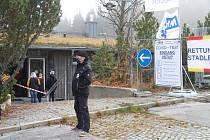 Hraniční přechod Strážný - Philippsreut. Ilustrační foto.