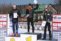 Luděk Šeller byl druhý mezi juniory.
