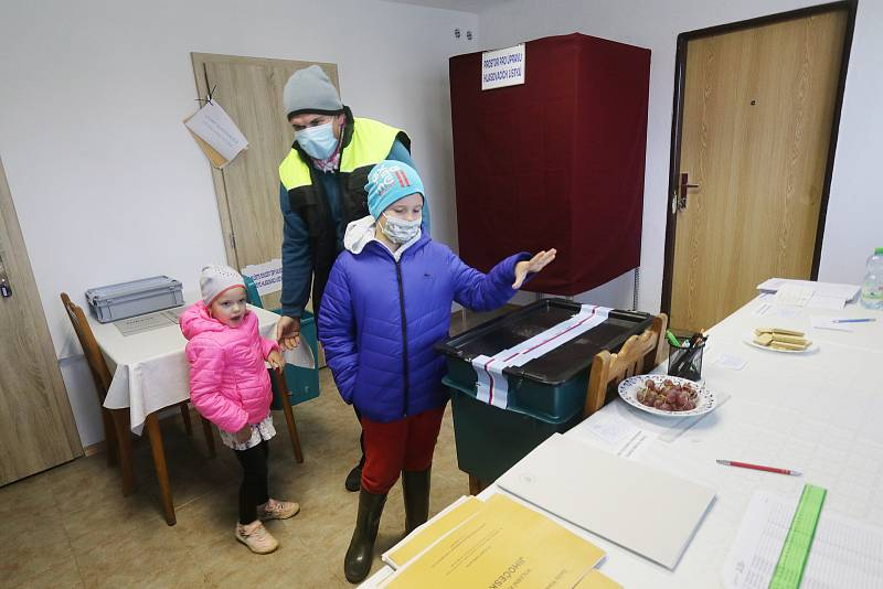 Volby v Mahouši na Netolicku.