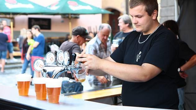 Pivní festival v Prachaticích.