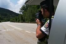 Letní bezpečnostní akce na Prachaticku.