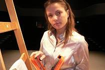 Tanečnice a v současné době převážně choreografka Lucie Holánková.