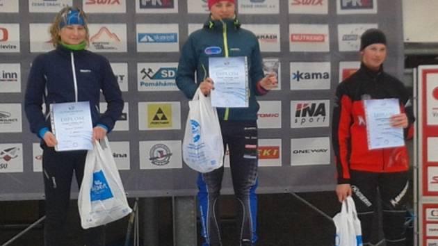 Andrea Klementová na Horních Mísečkách dvakrát vyhrála a jednou byla druhá.