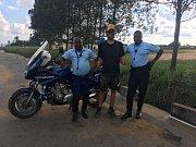 Kongo je další zemí, kterou Tadeáš Šíma z Prachatic projíždí na kole při svém putování Afrikou.