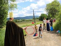 Volarské děti slavily svůj den na cestě z města do města, která byla plná poznání.