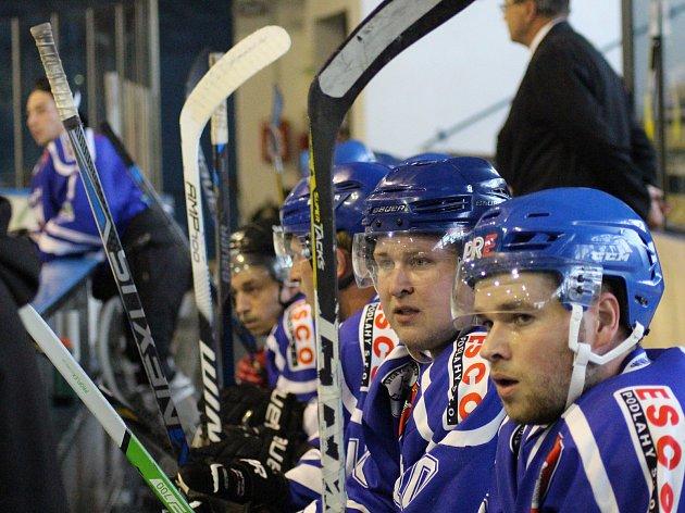 Vimperští hokejisté vyhráli v Telči 6:1. Ilustrační foto