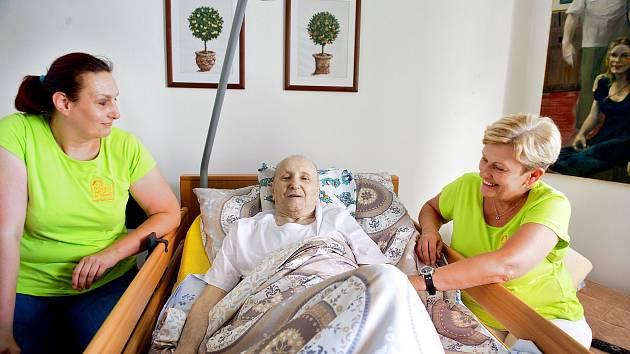 Domácí hospicová péče.