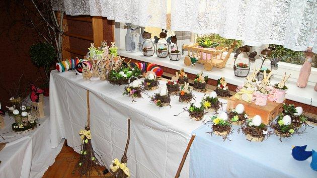 OBRAZEM: Velikonoční prodejní výstava ve Vodňance