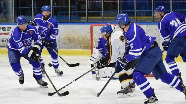 Vimperští hokejisté by se rádi co nejdříve vrátili na led.