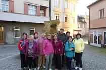 Výlet do Vimperku se vydařil.
