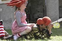 Na sobotu se chystá dětský letní festival Vimperský kašpárek. Ilustrační foto.