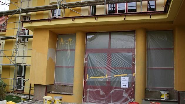 Ilustrační foto - Rekonstrukce Základní školy Vodňanská v Prachaticích.