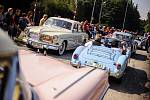 Historická auta zavítají na Šumavu.