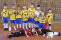 Mladí Vimperáci turnaj vyhráli.