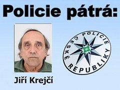 Portrét muže, po kterém pátrá policie.
