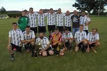 Fotbalový turnaj v Šumavských Hošticích vyhráli hráči domácího celku.