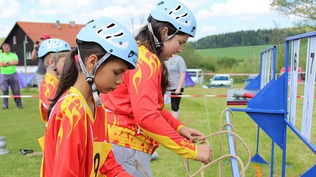 Na dvě stovky dětí soutěží ve Zbytinách v jarním kole Hry Plamen.