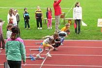 Žáci ZŠ Zlatá stezka měli školní olympiádu.