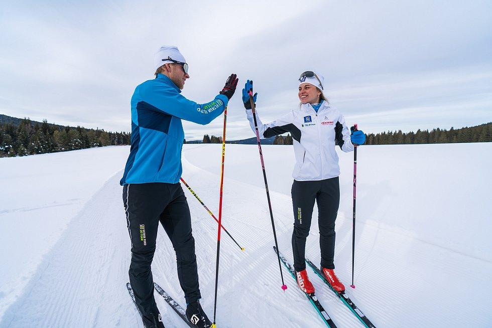 Andrea Klementová jezdí již třetí sezonu závody Visma Ski Classics v barvách Vltava Fund Ski Teamu.
