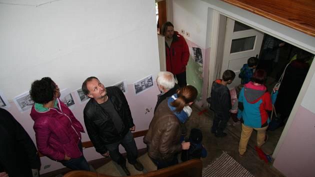 Vivat vila! Akce, při níž Prachatičtí viděli, jak vypadá Kralova vila v Nádražní ulici.