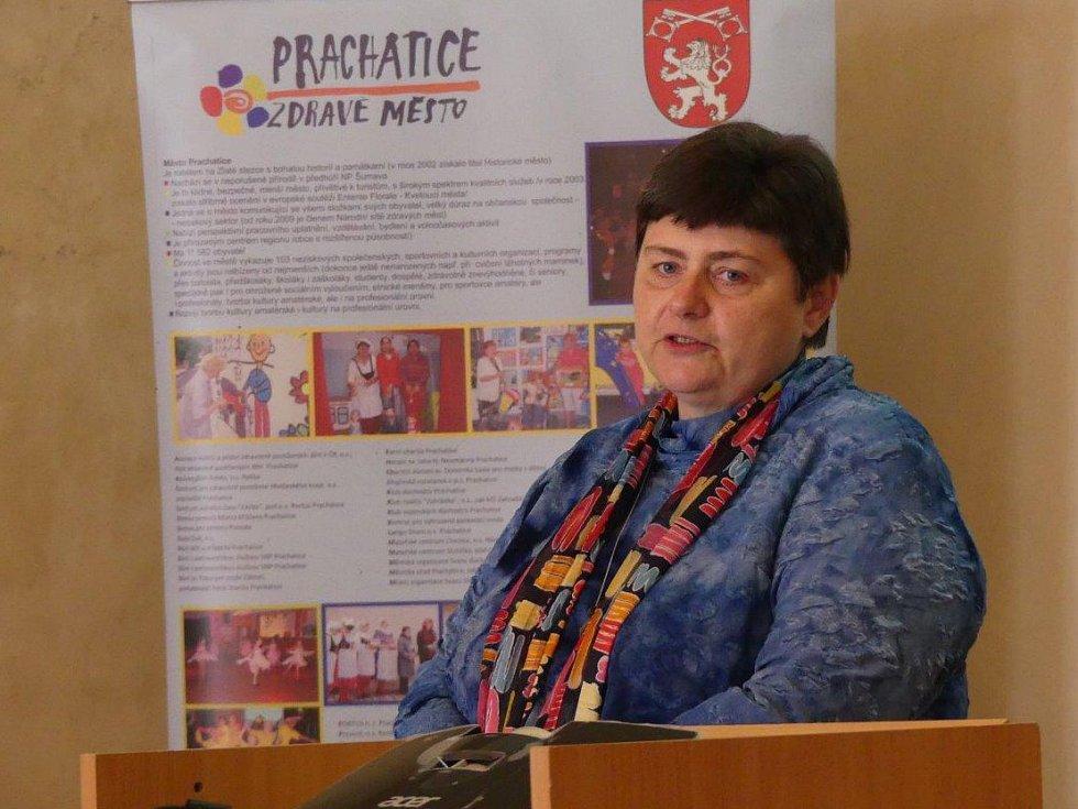 Magda Kümmelová v Prachaticích.