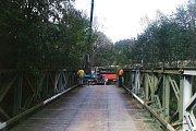 Do října letošního roku byl přes Blanici zapůjčen most ze státních hmotných rezerv. Obec ho musela vrátit.