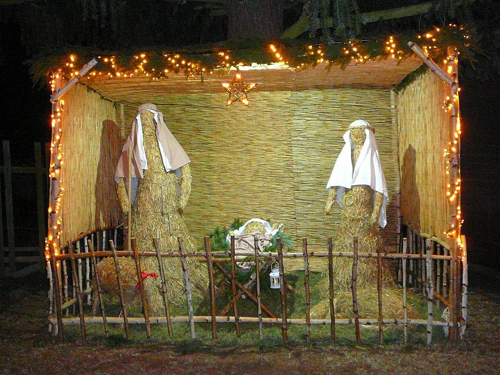 Betlém v Bohumilicích.