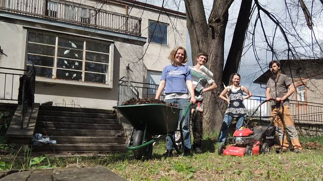 Iniciativa Živá Vila se stará nejen o vilu samotnou, ale také o její okolí.