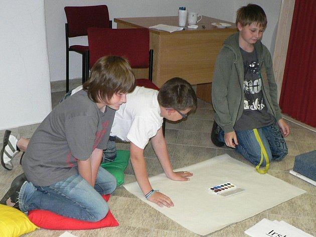 Školáci měli nakreslit stát podle jejich představy.