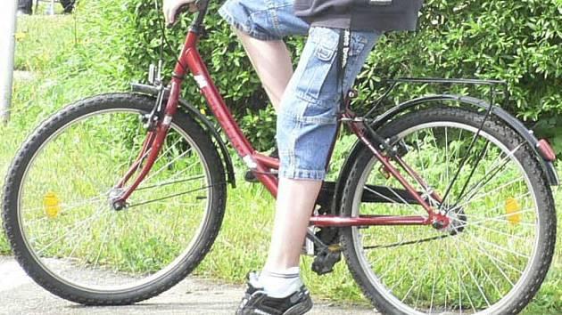 Ve Vokově ulici někdo zřejmě ukradl dětské kolo. Ilustrační foto.