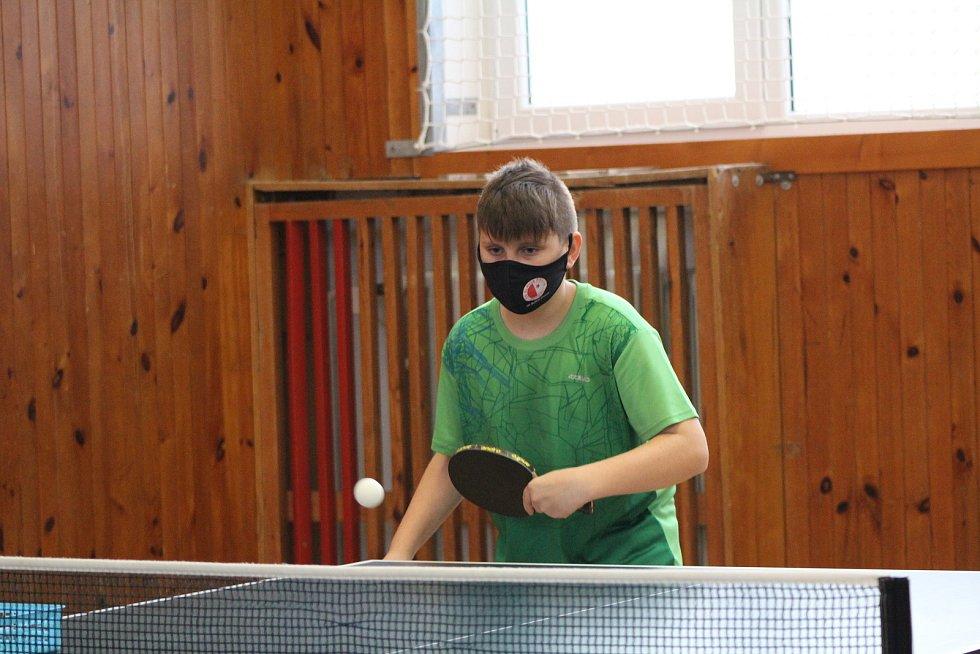 Mladí stolní tenisté absolvovali minikemp ve Vimperku.