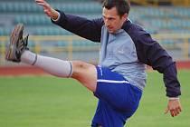 Gólman David Hrubý