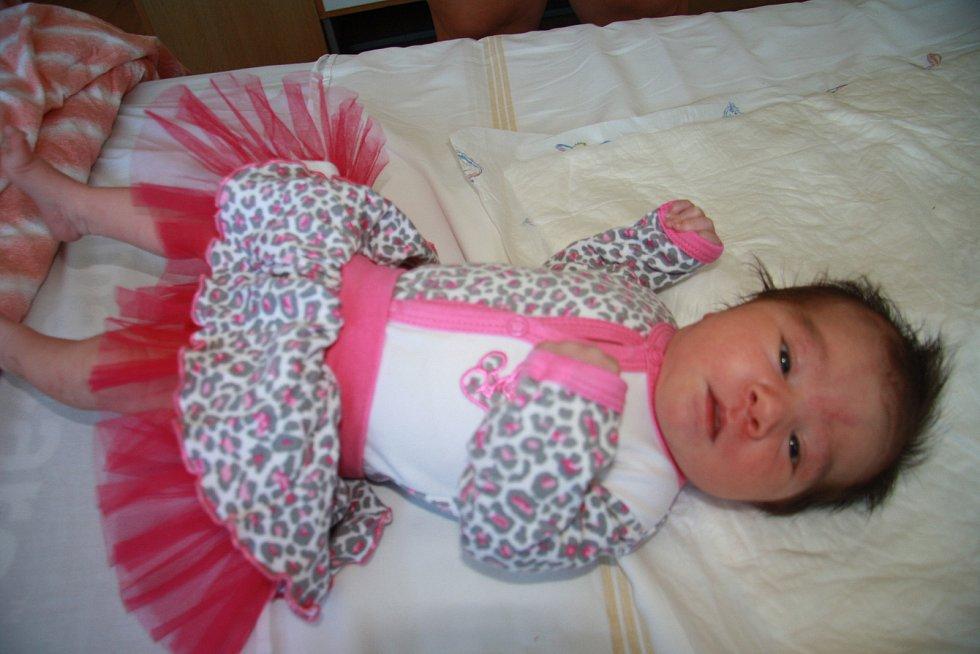 ELIŠKA BROŽOVÁ, VOLARY. Narodila se v pátek 19. července ve 3 hodiny a 43 minuty v prachatické porodnici. Vážila 3600 gramů. Má nevlastní sestřičku Leontýnku (5 let). Rodiče: Lence Bočáňové a Stanislavu Brožovi.