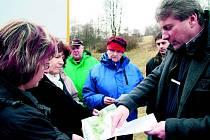 Ve Vimperku se debatovalo o podobě nového parku.