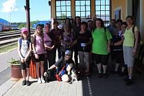 Volarské turistky na prvním letošním výšlapu. Nazvaly ho Volarský pěšour.