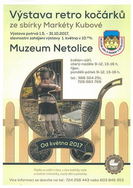 Sezonu zahájí výstava kočárků vpondělí 1.května