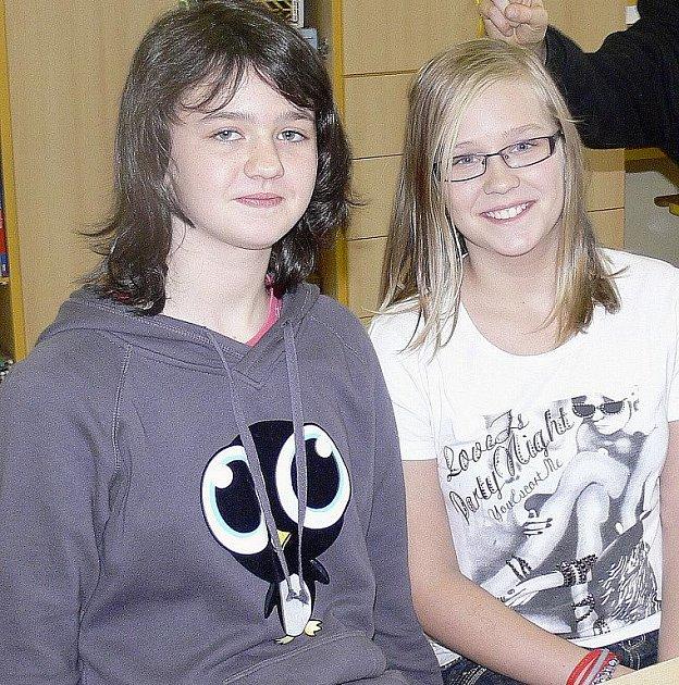 Zuzana Müllerová (vlevo) bude mít dnes den plný jedniček.