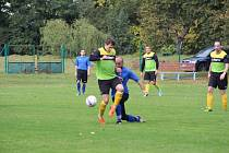 Fotbalová I.B třída: Slavoj Husinec - Osek B 4:2.