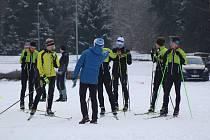 Vimperští lyžaři aktuálně ladí formu na Vodníku.