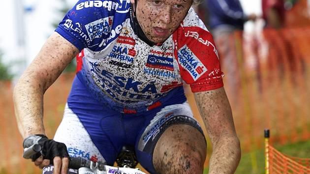 BRONZ. Jakub Magnusek vybojoval v závodě juniorů bronzovou medaili, na nominaci na MS to však nestačí.