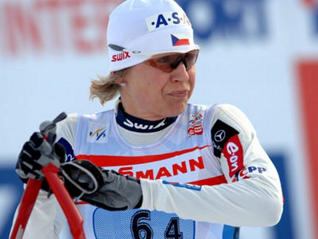 Že by při vimperské olympiádě už jela nová Katka Neumannová.