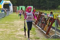 Johanka Benešová se stala krajskou přebornicí v letním biatlonu.