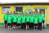 Žáci Tatranu Prachatice vyrazili na fotbalový turnaj do Mnichova.