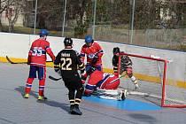KL hokejbalistů: Highlanders Prachatice C - Falcon ČB 1:3.
