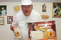 Pekařský mistr Augustin Sobotovič vyhrál pivo na rok zdarma.