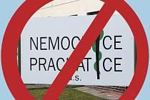 Zákaz návštěv v prachatické nemocnici trvá.