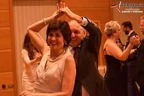 Ukončení tanečních kurzů pro dospělé ve Vimperku.