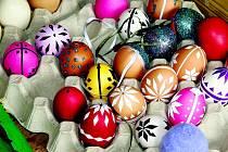 Barvení vajíček je velkou tradicí.